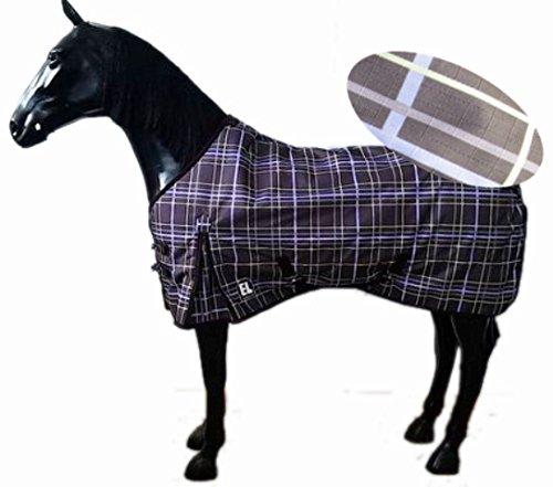 Regendecke ohne Füllung 1200D Ripstopp wasserdicht & atmungsaktiv NEU, Grösse (150cm) 155cm Turnoutdecke, Weidedecke, Pferdedecke