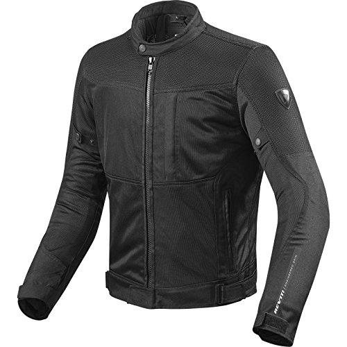REVIT VIGOR Herren Motorrad Textiljacke Touring - schwarz Größe S (Mesh-herren-motorrad-jacke)
