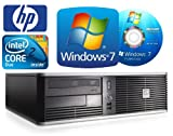 HP dc7900 Desktop Computer - Powerful Intel Core 2 Duo 3.0GHz E8400 Processor - 160GB HDD - 4GB Memory (RAM) - DVD MultiPlayer - WiFi Enabled - Windows 7 Professional 64-bit (Genuine Windows 7 Disc & COA also Included)