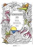 Ausmalkalender 2020 - Bildkalender A3 (30 x 42) - Meditationskalender - Achtsamkeit - Entspannung - Wandkalender