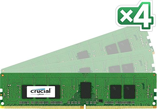Great Buy for Crucial 288 Pin 16GB (4GB x4) CL15 DDR4 DIMM Memory Module Online