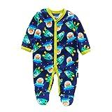Mxssi Herbst Winter Baby Jumpsuit Fleece Baby Jungen Mädchen Strampler Langarm Baby Strampler Neugeborenen Baby Kleidung