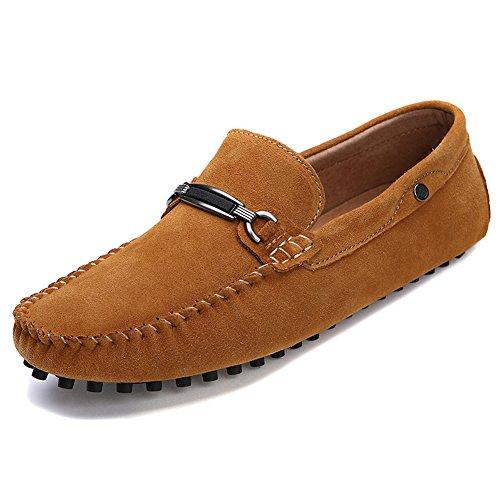 Herren Halbschuhe Schuhe Mokassin Bootsschuhe Flache