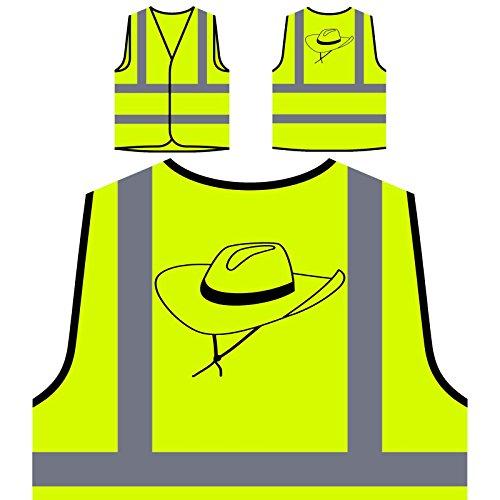 sierte High Visibility Gelbe Sicherheitsjacke Weste s754v ()