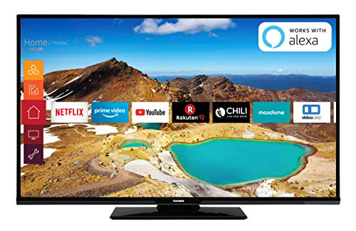 Telefunken XU49G521 124 cm (49 Zoll) Fernseher (4K Ultra HD, HDR 10, Triple-Tuner, Smart TV, Prime Video) -