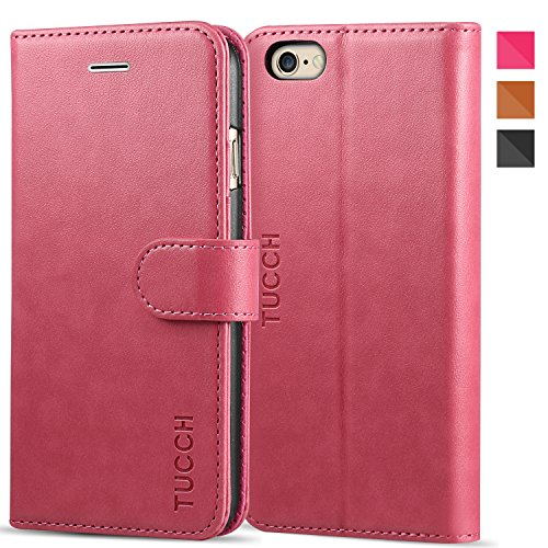 custodia iphone 6 a libro rosa