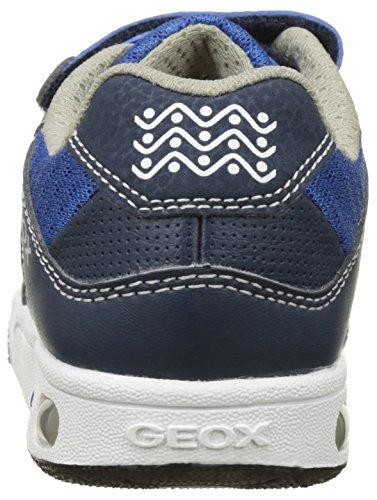 Geox Jungen Jr Gregg A Low-Top Blau (Navy/Greyc0661)