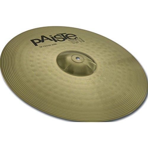 """Paiste 101 Brass 18"""" Crash / Ride   Cymbal   Becken für Schlagzeug   18 Zoll"""