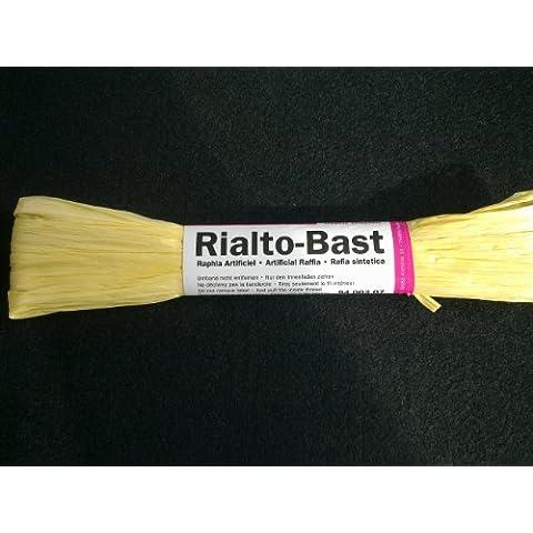 Rafia in giallo opaco 10G–100%