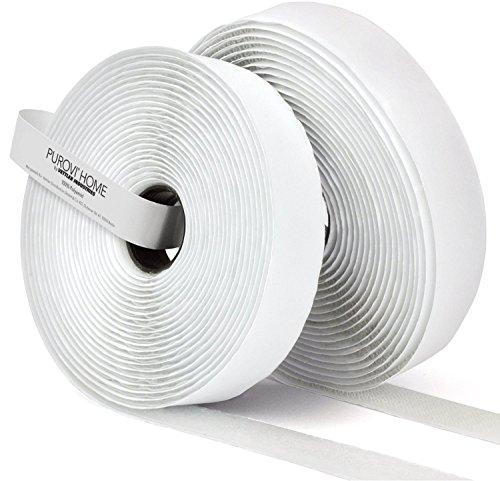 10-m-de-bande-auto-adhesif-boucle-et-crochet-20-mm-de-large-blanc