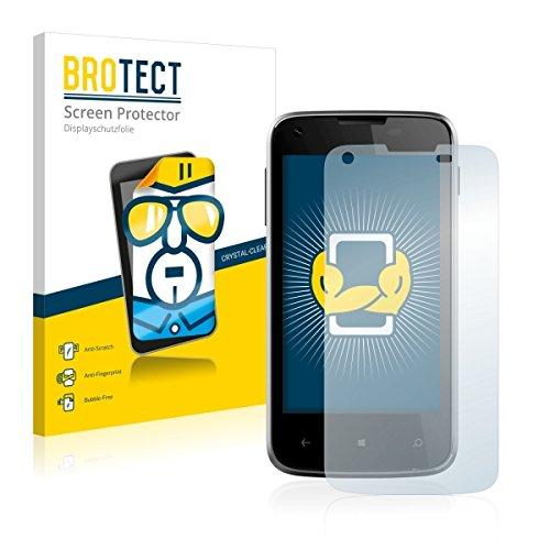 2X BROTECT HD Clear Bildschirmschutz Schutzfolie für Kazam Th&er 340W (kristallklar, extrem Kratzfest, schmutzabweisend)