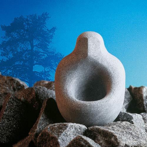 Aromaschale aus Speckstein für den Saunaofen -Löylynhenki- (Saunageist) 30 ml (Hukka Design)