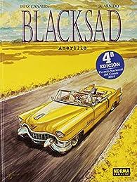 BLACKSAD 5. AMARILLO par Juan Díaz Canales