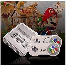 Super Mini TV Video Game Console HD 1080P | 621Giochi Classic emblématiques Retro Vintage Nostalgia 90| Connection HDMI | pronta all' uso | tendenza 2018, grigio