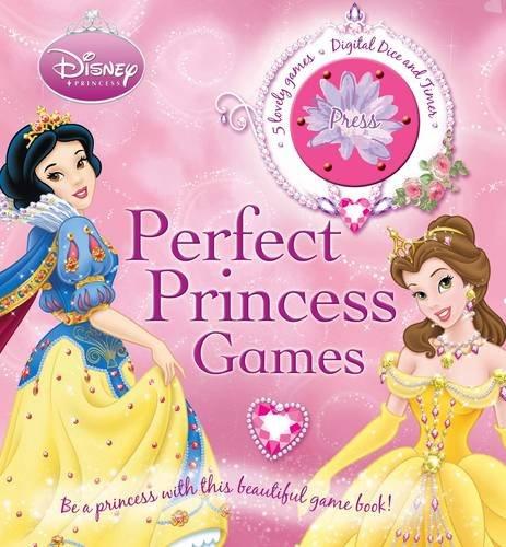 Disney Board Game Book: Perfect Princess Games