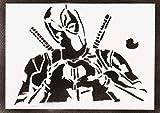 Poster Deadpool Massacre Affiche Handmade Graffiti Street Art - Artwork