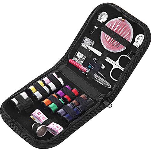 UEK Nähzeug, Premium DIY Nähzubehör, Spulen Nähgarn, Tragbare Mini Nähzeug Für Erwachsene,Anfänger, Kinder, Reisen, Notfall zu Reparieren und zu Reparieren