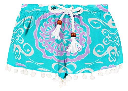 Snapper Rock-Pantaloncini da nuoto con protezione UV 50 + medaglione da Surf, Bambino, 7-8 anni, 128, 134 cm