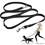 oneisall Dog Lead, Hands Free Dog Leash,Multifunctional Dog Rope Training Leads for Running