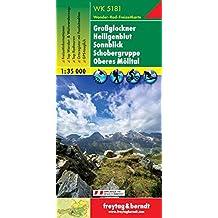 Freytag Berndt Wanderkarten, WK 5181, Großglockner - Heiligenblut - Sonnblick - Schobergruppe - Oberes Mölltal - Maßstab 1:35.000 (freytag & berndt Wander-Rad-Freizeitkarten)