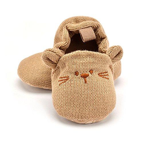 Baby M盲dchen Jungen erste Wanderer Schuhe Indoor Soft Sohle Non Slip Kleinkind Schuhe B盲r