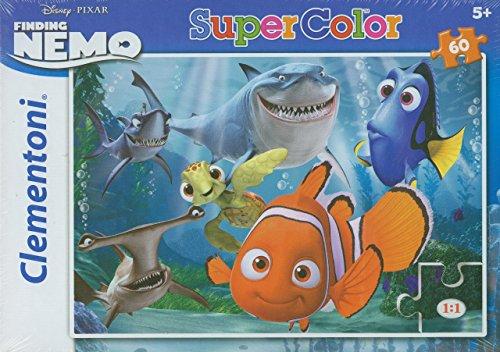 Clementoni 26885.6 - Puzzle Nemo: Never trust a smiling shark, 60 Teile