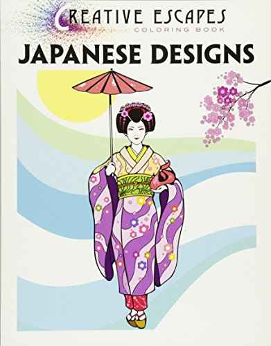 Creative Escapes Coloring Book: Japanese - London-themed Kunst