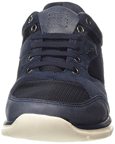 Geox U Damian A, Baskets Basses Homme Blau (NAVYC4064)
