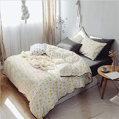 SHJIA Bettbezug Hochwertige Bettwäsche Set Bettwäsche Kissenbezüge Bezug Set G 229x229cm