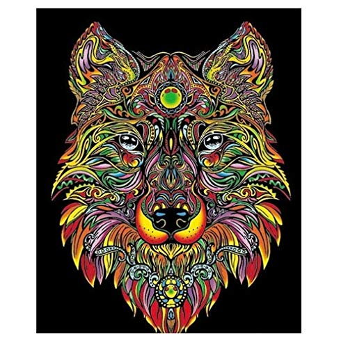 Colorvelvet L094 - Disegno 47x35 cm Lupo