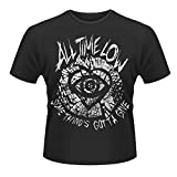 Plastic Head Herren T-Shirt All Time Low Shatter, Schwarz, Large