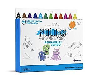 Osama Estuche 12 rotuladores Jumbo de Colores OW 12043