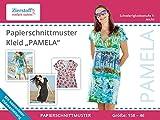 Schnittmuster auf Papier, Kleid'Pamela', Gr. 158 bis 46 - auch als Schwangerschaftskleid zu tragen!