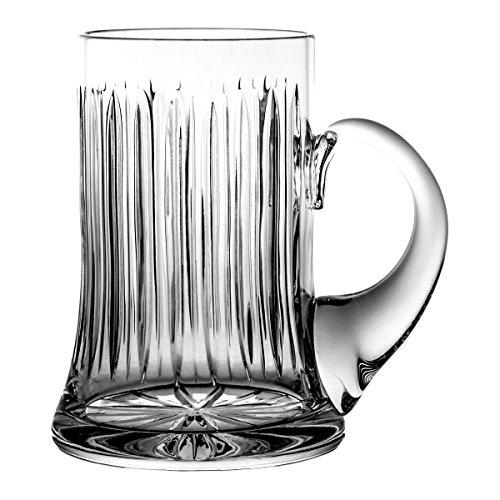 Boccale di birra crystaljulia 8006, cristallo al piombo, trasparente