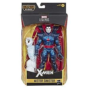 Marvel acción Coleccionable Legends Series de 6 Pulgadas con diseño de Mister Sinister Juguete (X-Men/X-Force Collection) - con Parte de construcción de Figura de Wendigo, Color sí. (Hasbro)