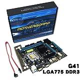 Scheda madre per scheda madre Gigabyte G41 per PC desktop Scheda memoria DDR3 per LGA 775 Dual Core Quad Core (colore: multicolor)