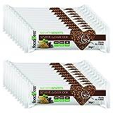 20 Barritas de Cereales con Semillas de Sésamo con Chocolate Negro Foodness. Snacks Deliciosos y Nutritivos