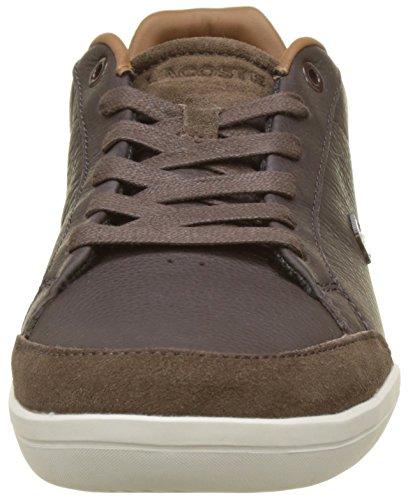 Lacoste Set-minimal, Sneaker Homme Marron (dk Brw)