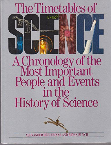 The timetables of science: A chronology of the most important people and events in the history of science