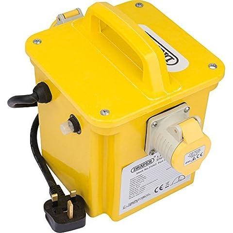 Draper 1.5Kva 240v to 110v Step Down Portable Site Power
