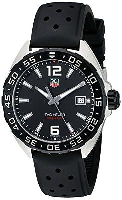 Reloj TAG Heuer Formula 1 esfera negra correa de caucho WAZ1110.FT8023