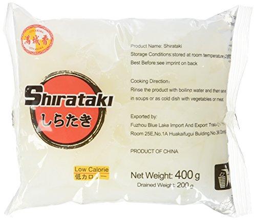 "Konjak Nudeln Shirataki ""Nudeln(breit)"" aus Konjakmehl (10 x 400 g)"