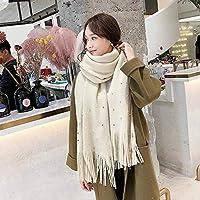 CXIGUA Damen Schals Elegante Winter Schals Lange Dual-Purpose Verdickte Bib Für Studenten.