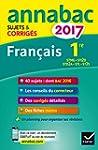 Annales Annabac 2017 Fran�ais 1re STM...
