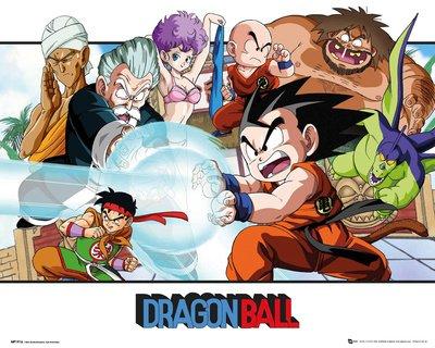 GB Eye, Dragon Ball, Paisaje, Mini Poster 40x50cm