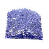 Evilandat 5000 PCS Streudeko Diamant Tischdeko Stein Verzierung Hochzeit Glitzert Klar Bling Faux Acryl Optik, 4,5 mm, Nachtblau