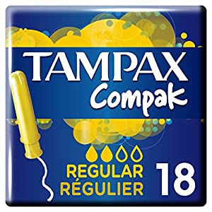 Tampax Compak Regular Tampons with Applicator