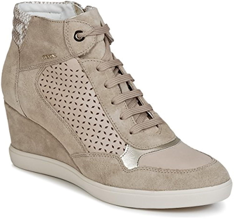 Geox  Damen Sneaker beige Lt Taupe 41