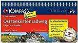 KOMPASS Fahrradführer Ostseeküstenradweg 1 Rügen und Usedom: Fahrradführer mit Routenkarten im optimalen Maßstab.: Fietsgids 1:50 000