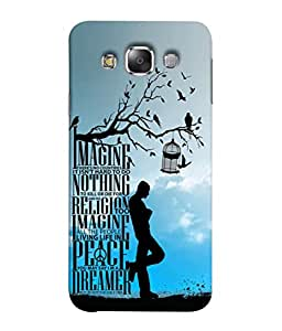 Fuson Designer Back Case Cover for Samsung Galaxy E7 (2015) :: Samsung Galaxy E7 Duos :: Samsung Galaxy E7 E7000 E7009 E700F E700F/Ds E700H E700H/Dd E700H/Ds E700M E700M/Ds (heart series togetherness together )